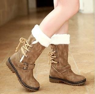 Aliexpress.com : Buy Free shipping Women's Shoes Snow boots Winter ...