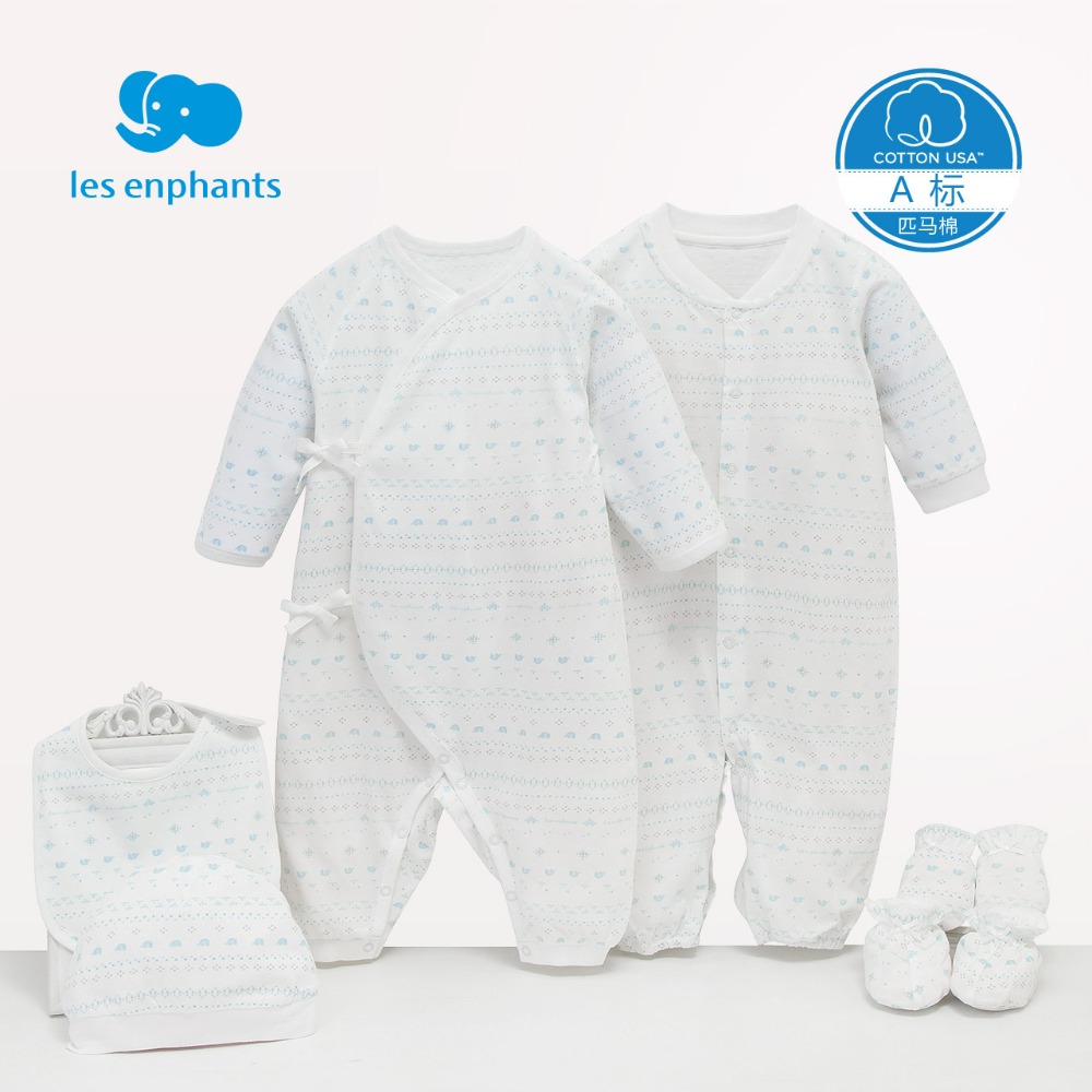 les enphants Newborn Baby Clothing Gift Sets Baby Girls Boys Clothes Hot New Brand Baby Gift Infant Cotton Cartoon Rompers Set baby clothes new hot 100% cotton winter and autumn baby rompers baby clothing boys girls infant newborn kids long sleeve clothes
