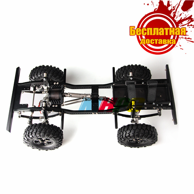 Russian RC MHPC 1/10 Crawler Alloy Chassis Kit D90 Tamiya RC4WD F350 CR01 Cod.FH30001 - Russia store