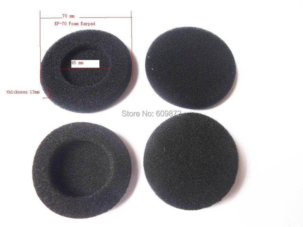 Linhuipad EP-70 headphone Foam Ear Pads Ear cushions 70mm diameter, 2 pairs / lot free shipping by Singapore Post