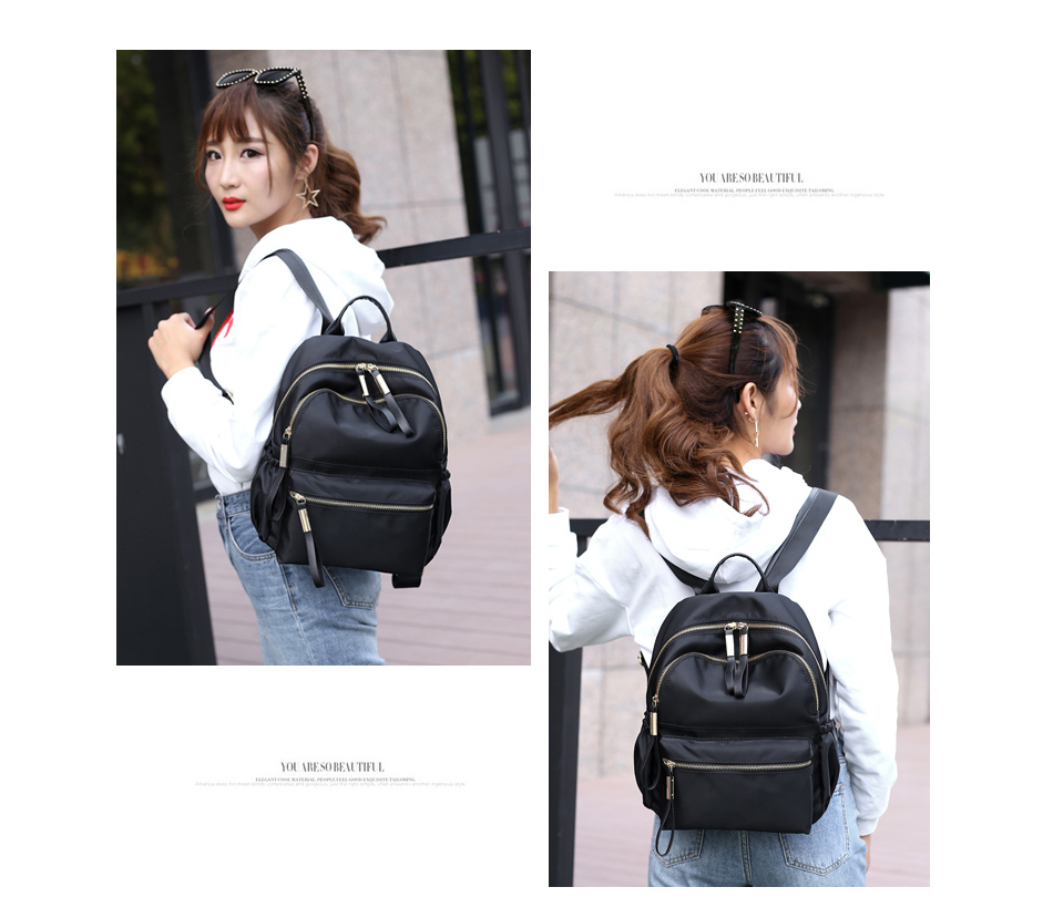 HTB1b90kXzzuK1RjSspeq6ziHVXa3 Herald Fashion Backpack Women Leisure Back Pack Korean Ladies Knapsack Casual Travel Bags for School Teenage Girls Bagpack