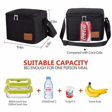 Portable Thermal Lunch Bags for Women Kids Men Multifunction Food Picnic Cooler Box Insulated
