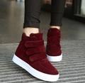 Wedges shoes women flat shoes woman Feminino Platform Women Slipony Casual Shoes 2017 Botas Mujer Sapatos Feminino Short boots