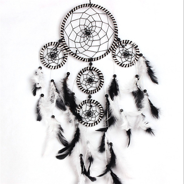 Dream Catcher Group Home Handmade Dream Catcher With Feathers Home Balcony Door Window 36
