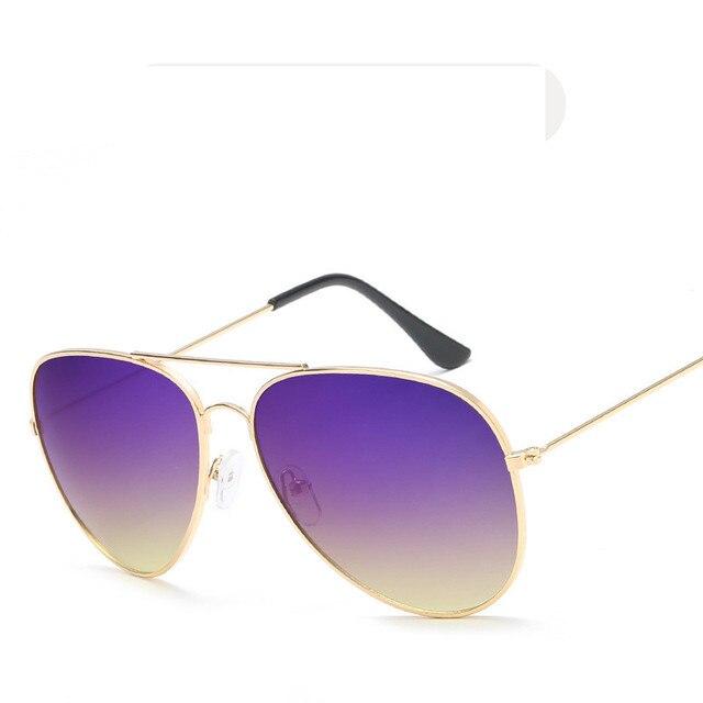 Lunettes Les hommes et les dames sont en verre anti-éblouissement anti-UV lunettes de soleil polarisées ( couleur : Violet ) yAlfmN40Z