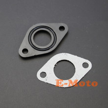 20mm PIT DIRT BIKE KARBÜRATÖR EMME MANIFOLDU CONTA ve kauçuk conta 90cc 110cc 125cc(China)