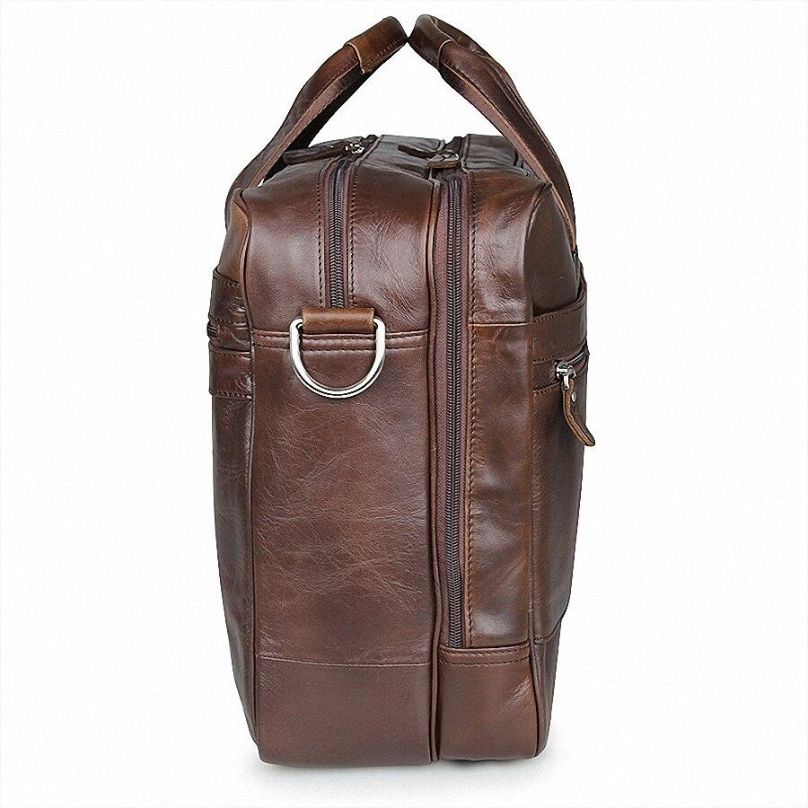 Aliexpress.com : Buy Genuine Leather Men Briefcase 17 inch ...