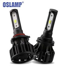 Oslamp 9005 HB3 9006 HB4 LED Car Headlight Bulbs COB 72W 8000lm 6500K Auto Headlamp Light for Toyota/Camry/Solara/Supra(China)