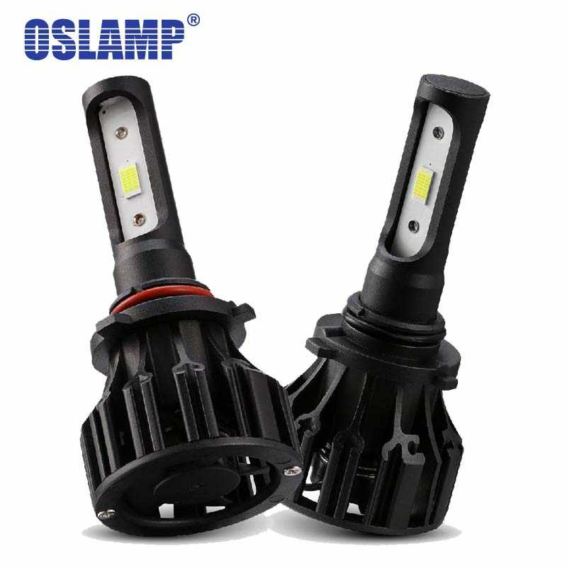 Oslamp 9005 HB3 9006 HB4 LED Car Headlight Bulbs COB 72W 8000lm 6500K  Auto Headlamp  Light for Toyota/Camry/Solara/Supra