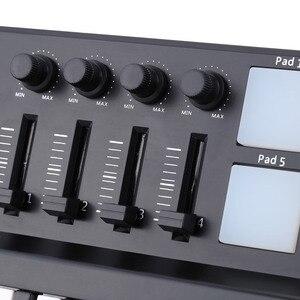 Image 4 - Worlde פנדה MIDI מקלדת 25 מיני נייד מיני 25 מפתח USB מקלדת תוף Pad MIDI בקר