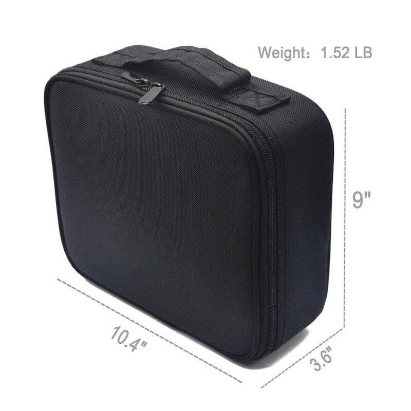 Neceser Cosmetic bag Per lo stoccaggio Vanity Women Professional kit - Organizzazione e deposito in casa - Fotografia 3