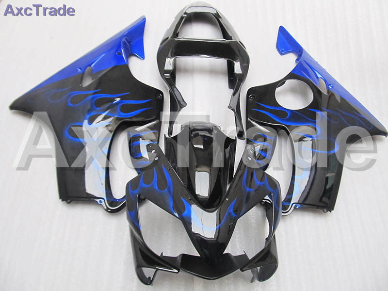 High Quality ABS Plastic For Honda CBR600RR CBR600 CBR 600 F4i 2001-2003 01 02 03 Moto Custom Made Motorcycle Fairing Kit Blue gray moto fairing kit for honda cbr600rr cbr600 cbr 600 f4i 2001 2003 01 02 03 fairings custom made motorcycle injection molding