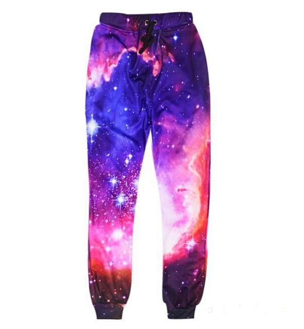 e783d8dbd598c5 2016 Joggers pants 3D graphic galaxy space harajuku pants cloud printed 3d  punk sweatpants men
