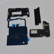 4 개/대 삼성 갤럭시 노트 8 n950 n950f n950u nfc 무선 충전 + 안테나 패널 커버 + 시끄러운 스피커