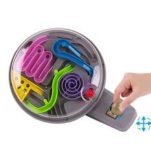 3D Magic Intellect Ball Marble Puzzle Game perplexus bolas magnéticas IQ Balance de juguete, Juguetes clásicos educativos manejan Maze Ball