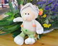 NICI 35cm Pink Clothes Bear Stuffed Plush Toy, Baby Kids Doll Gift Free Shipping