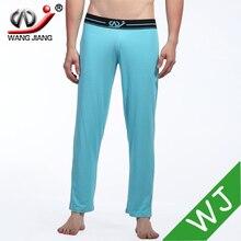 WJ men underwear men pajama pants rayon men long sexy underwear cool pajama jeans winter wear for men 2016-SKU