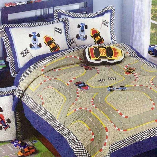 Boys Bedding set / kids bedding set/Patchwork quilts/twin size ... : patchwork quilts for boys - Adamdwight.com