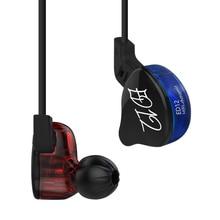 KZ auriculares intrauditivos para correr audífonos internos con Monitor de graves, estéreo, con cancelación de ruido y mejores estudios HIFI, modelo ED12