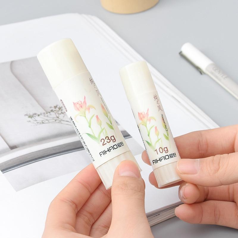 Mini Kawaii Solid Glue Cute 10g Glue Stick For Home Decoration Photo Album Kids Gift Korean Stationery Office School Supplies