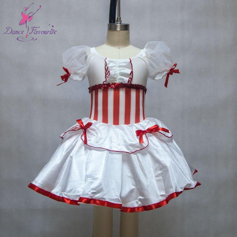 Puff sleeve women & girl Romantic ballet costume tutu ballerina stage performance ballet costume dance tutu lady dance costume