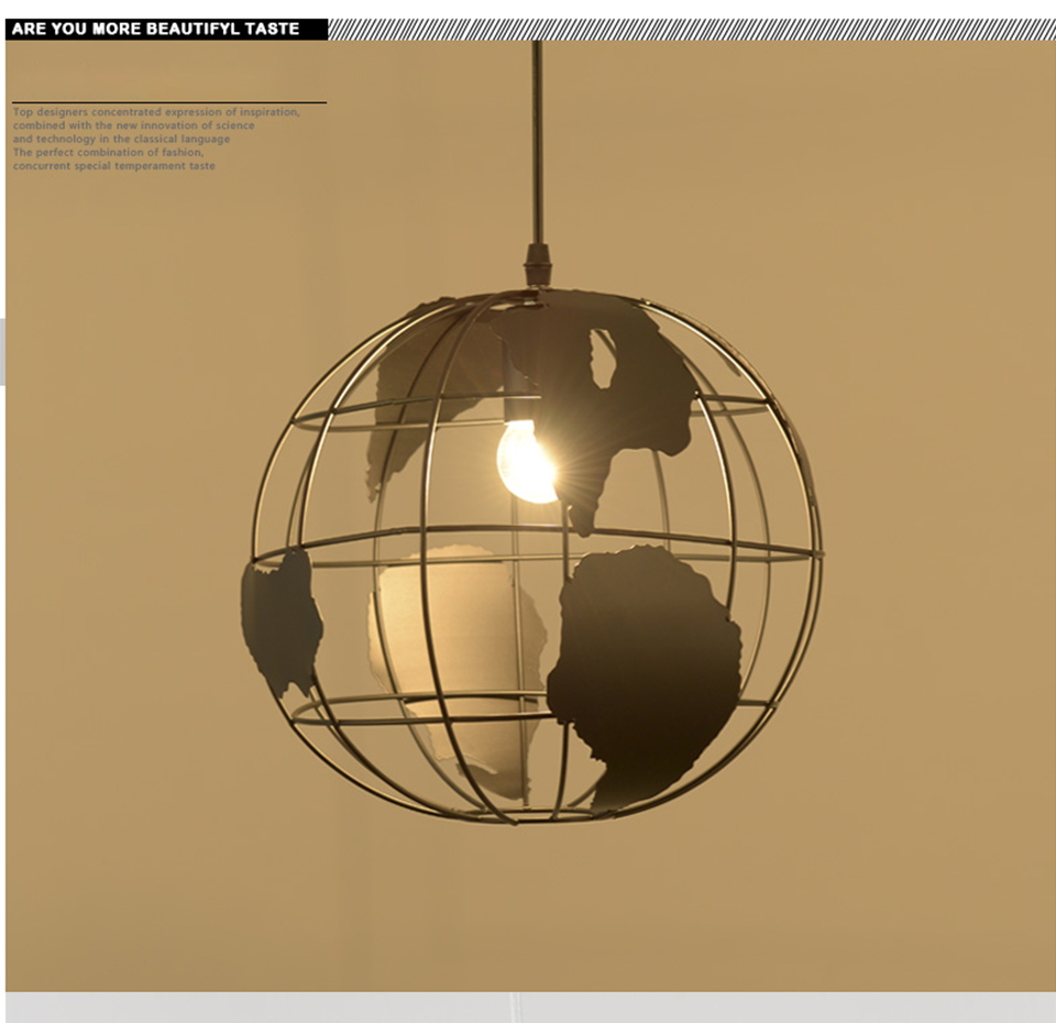 Nordic modern cord globe ball pendant light world map e27 lamp nordic modern cord globe ball pendant light world map e27 lamp white and black for living room cafe bar loft vintage luminarias in pendant lights from gumiabroncs Images