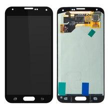 10 PCS/Lot Penggantian Display Kompatibel untuk Samsung Galaxy S5 G900 G900F LCD dengan Layar Sentuh Digitizer Perakitan