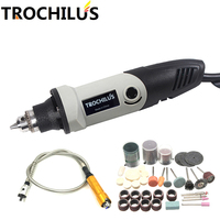 High Quality Dremel 400W Electric Tool Mini Grinder 0 6 6 5mm Variable Speed Rotary Grinding