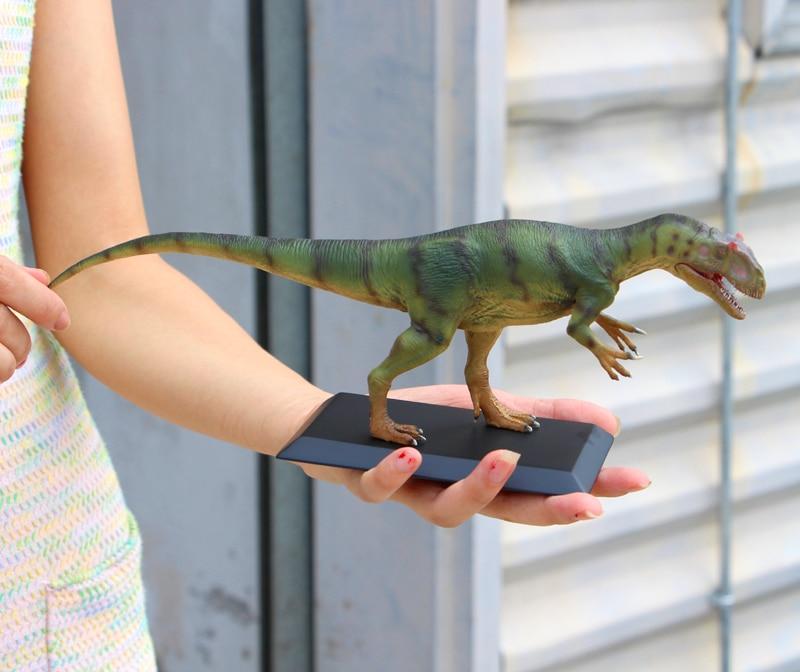 Vendite limitate 300 set Jurassic Modello di Dinosauro Del Mondo Allosaurus Toy Collection 1:35 - 6