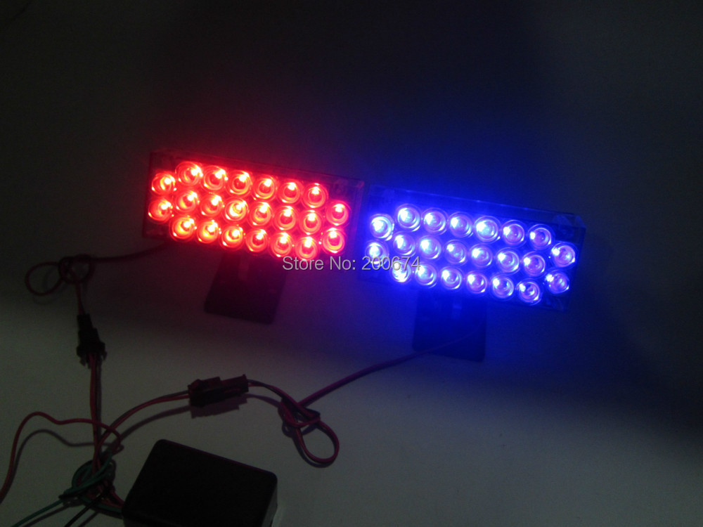 2*22LED LED strobe light car flashlight  LED warning light led light high quality LED Light