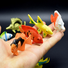 12kinds fish Lifelike Simulation 12 different kinds ocean sea Ornamental Model life Action Figure Toy for kid gift
