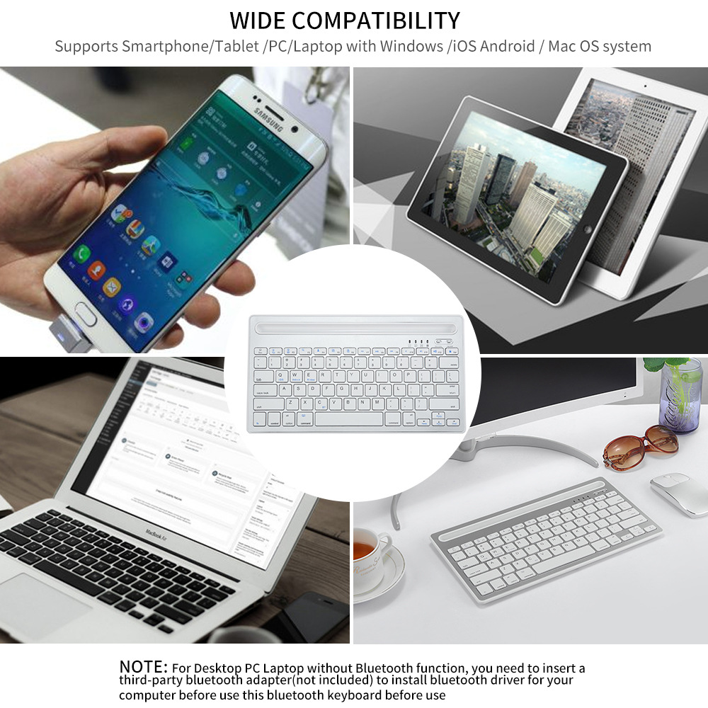 Bluetooth Keyboard Wireless  (8)