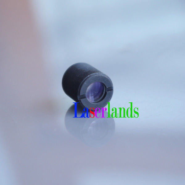 2pcs M9/P0.5 F=9.8 Coated Glass Focal Collimator Collimating Lens 635nm 650nm 658nm 660nm 670nm Red Laser Diode