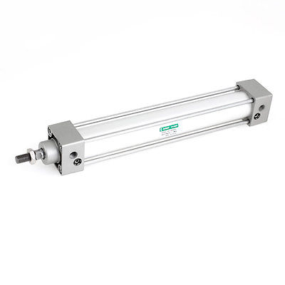 ФОТО 32mm x 200mm Double Acting Aluminum Alloy Pneumatic Air Cylinder SC32x200