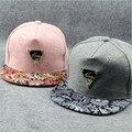 2016 New fashion hip hop cap snapback bandanna printting flower dancer hat bone baseball cap free shipping