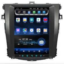 2019 9.7  newest Tesla Android 8.1 Fit TOYOTA Corolla 2007 2009 2010 2011 2012 AUTO A/C Car DVD Player Navigation GPS Radio eunavi 2 din android 7 1 car dvd player for toyota corolla 2007 2008 2009 2010 2011 in dash car radio gps video wifi bluetooth
