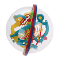 1 Шт. Горячей Продажи Сферические 3D Лабиринт Интеллект Мяч Баланс Игры и Головоломки Игрушки Детские Игрушки Развития 3D Шар Лабиринт Головоломки подарок