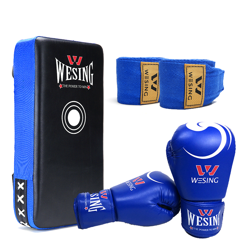 free shipping martial art  hot sale pu boxing pad boxing gloves hand wraps  3set suotf adult fitness boxing pear sports punching bag martial arts supplies boxing speed ball punching bag excercise equipment