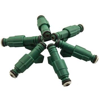 6 fuel injectors 440cc 42lb EV6 Green for BMW VW VOLVO AUDI TURBO 0280155968