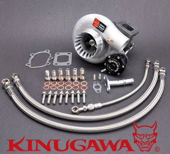 "Kinugawa Billet Turbocharger 3"" Anti Surge TD05H 18G 8cm T25 5 Bolt for Nissan Silvia SR20DET 200SX S14 S15