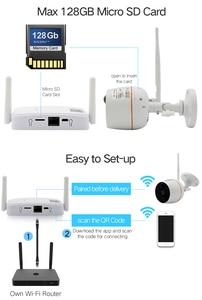 Image 2 - Wireless mini Sistema di Telecamere di Sicurezza HD 1080 P Wifi Mini NVR Kit di Video Sorveglianza Esterna Casa Senza Fili del IP Della Macchina Fotografica Set