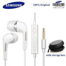 Samsung original fone de ouvido ehs64 com fio 3.5mm no ouvido com microfone para samsung galaxy s8 s8edge s9 s10 s10 +