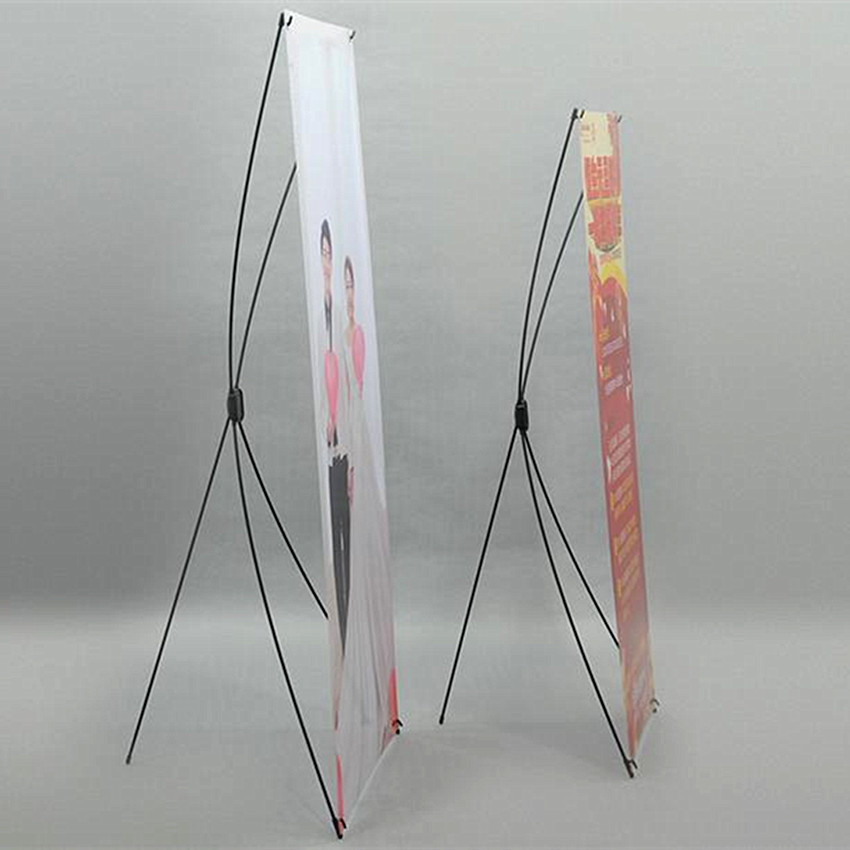 Economic X Banner Advertising Poster Display Stands For Promotion Exhibition Trade Show Booth(Printing Excluded) 10pcs