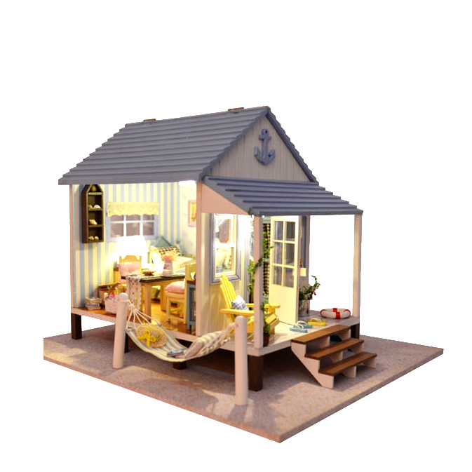 Buy new 3d puzzles doll house lover dream house furniture handmade wooden house New home furniture bekasi