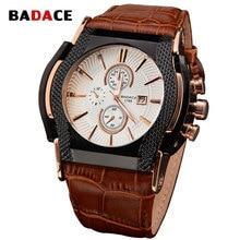 BADACE relojes hombre 2016 hombres Militar reloj relogio feminino hombres no diseño de relojes de lujo impermeable del Cuarzo del deporte del Reloj