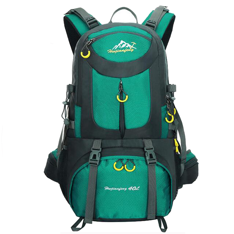 2018 Outdoor Camping Climbing Bag Sports Backpack Large Capacity Waterproof Travel Backpack 40L Rucksack 50L Hunting Hiking Bags 40l outdoor hiking backpack 2l personal waist bag for travel climbing camping