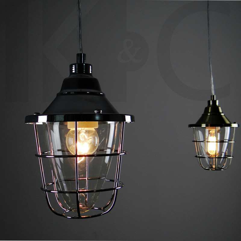 Vintage Pendant Lights Retro Edison bulb Hanging Lamp Wrought Iron Lighting  Fixture luminaire Dining room droplight