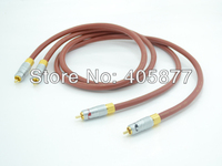 1M pair Venture audio cable interconnect cable DIY with Nakamichi rca plug cable