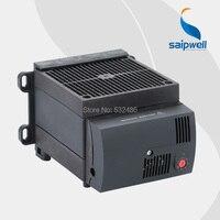 Компактный высокопроизводительный 230VAC 1200 W полупроводниковые нагреватель вентилятор для шкафа со встроенным термостатом CS130