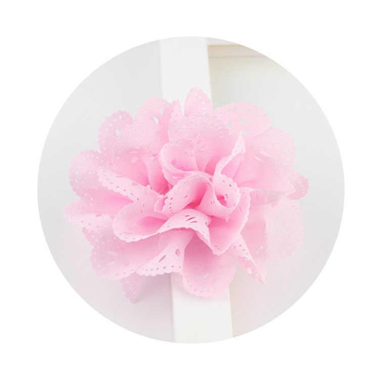 16 สีเล็กๆกลวงออกดอกไม้คลิปผมเด็กน่ารักเล็กๆน้อยๆสาว Hairpins เจ้าหญิง Headwear อุปกรณ์เสริมผมสีชมพู